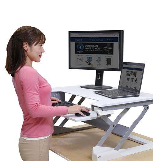Position personnel bureau ergonomique